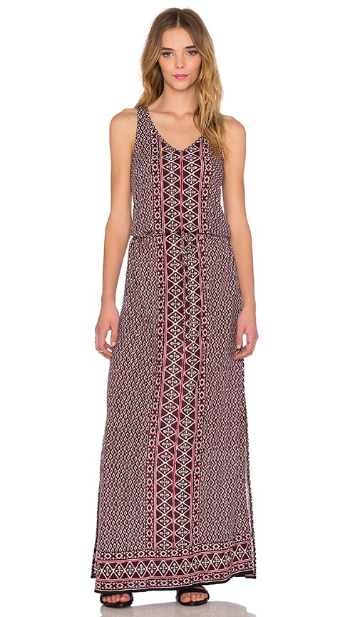 Soft Joie Ewan Maxi Dress in Fired Brick
