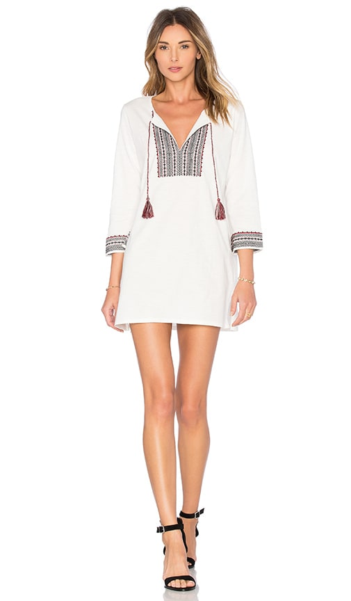 Soft Joie Rane Mini Dress in Porcelain