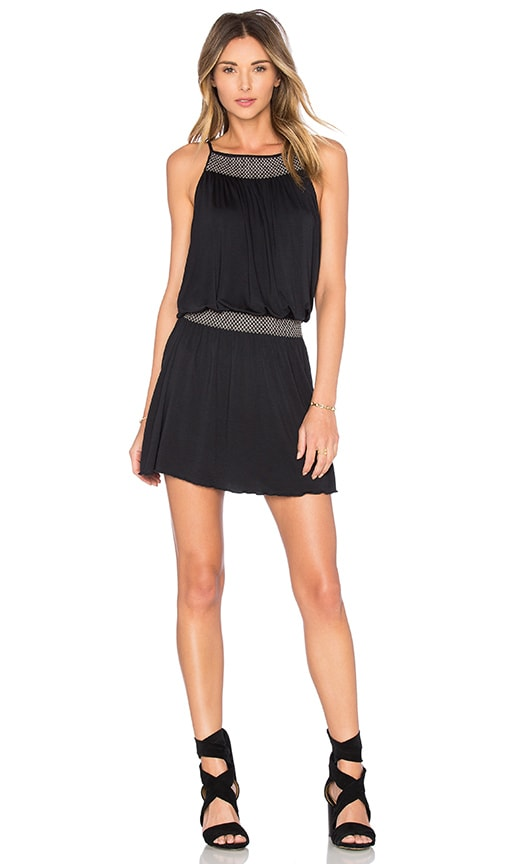 Soft Joie Dhara Mini Dress in Caviar