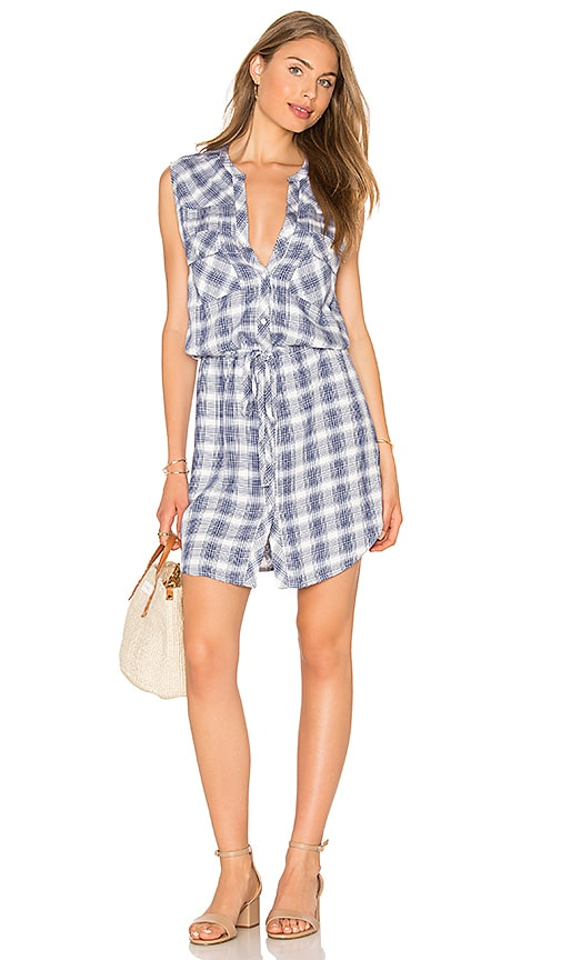Soft Joie Noraha Dress in Blue