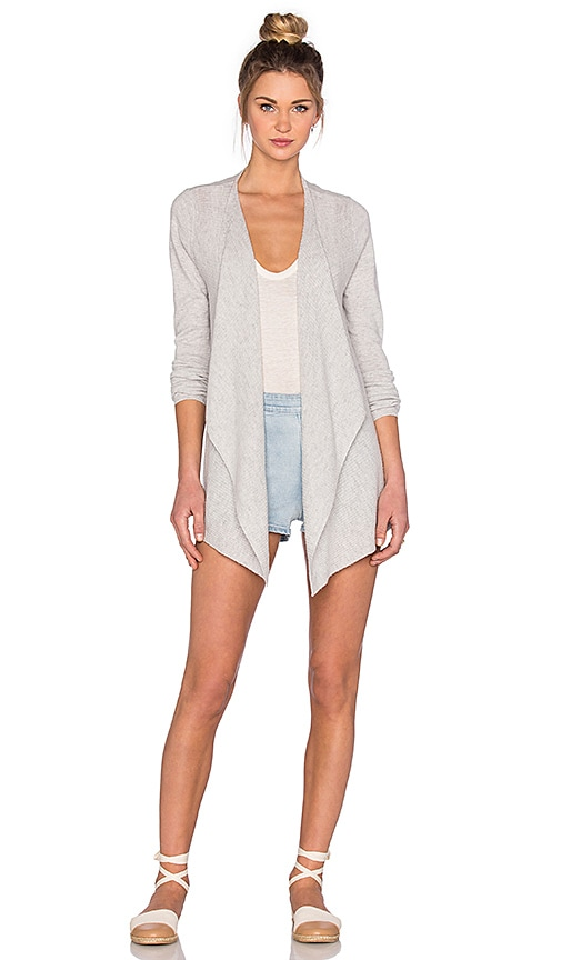 Soft Joie Demonta Cardigan in Light Heather Grey