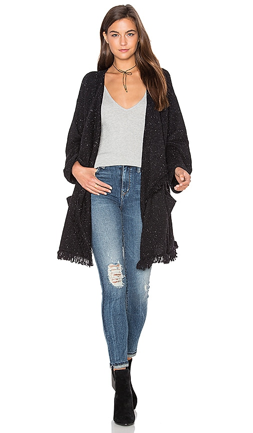 Soft Joie Farid Cardigan in Black