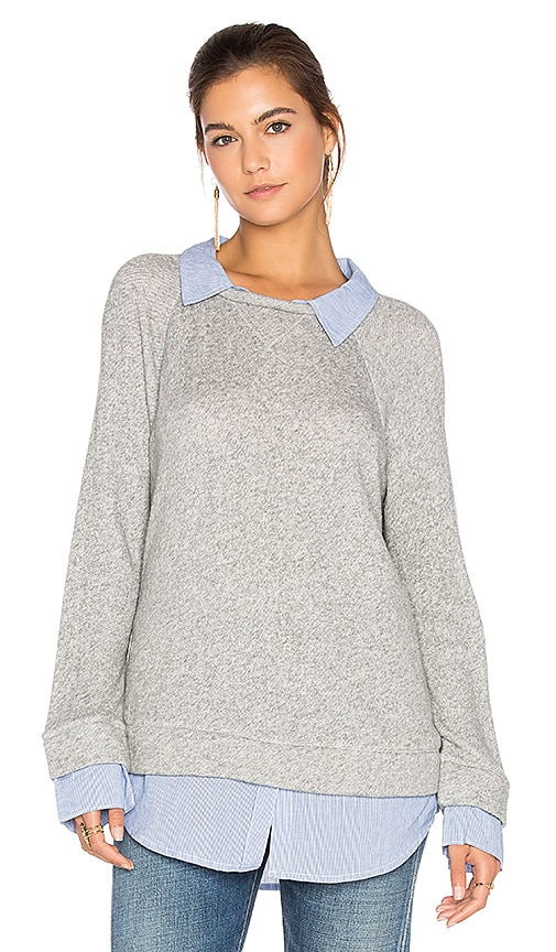Soft Joie Diadem Pullover in Gray