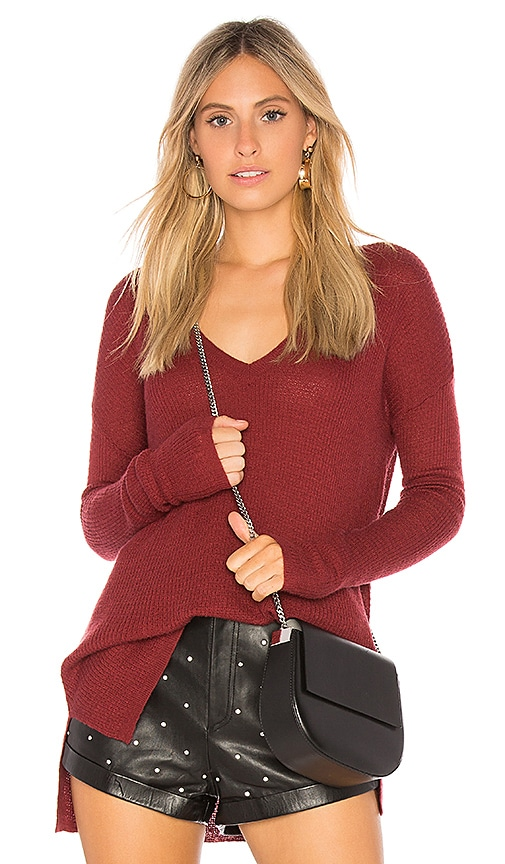 Soft Joie Khari Sweater in Burgundy