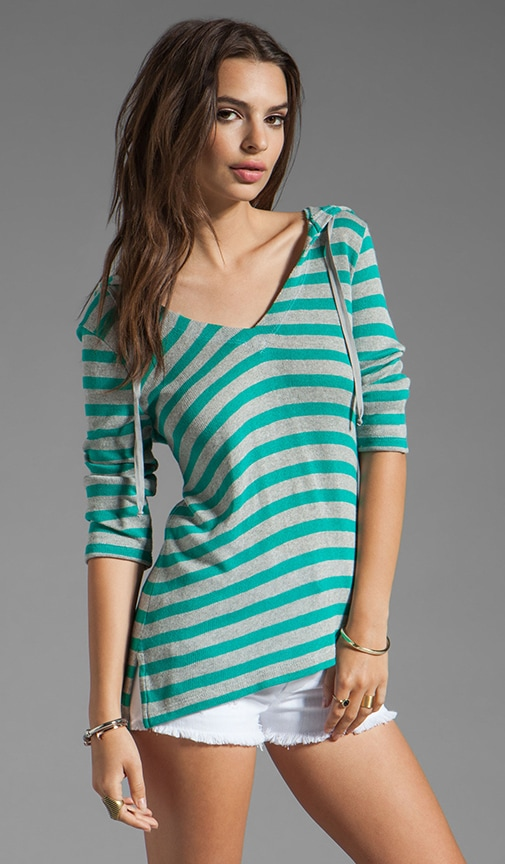 Bromley Striped Hoodie