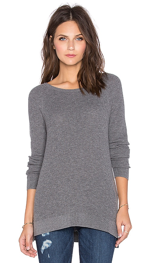 Soft Joie Bini Sweater in Dark Heather Grey