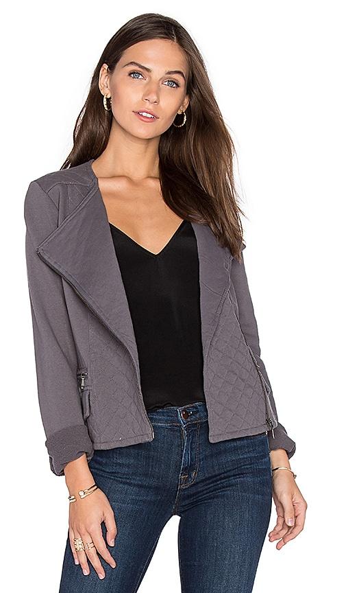 Soft Joie Jayla Moto Jacket in Gray