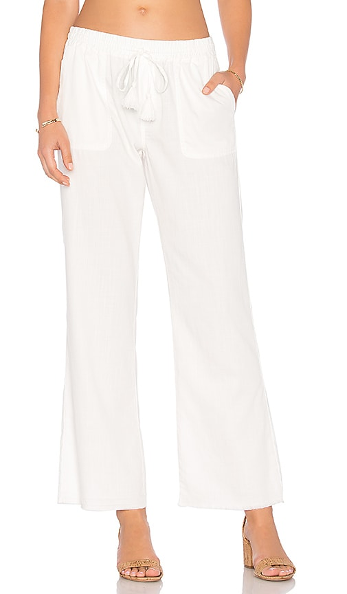 Soft Joie Dominik Pant in White