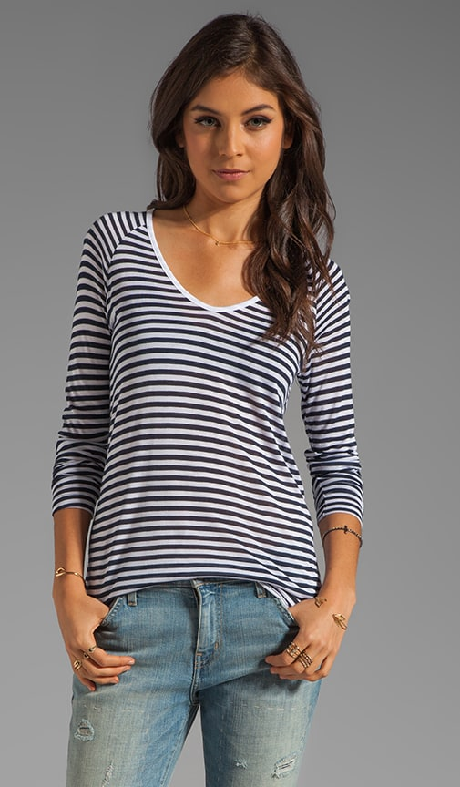 Camile Resort Stripe Top