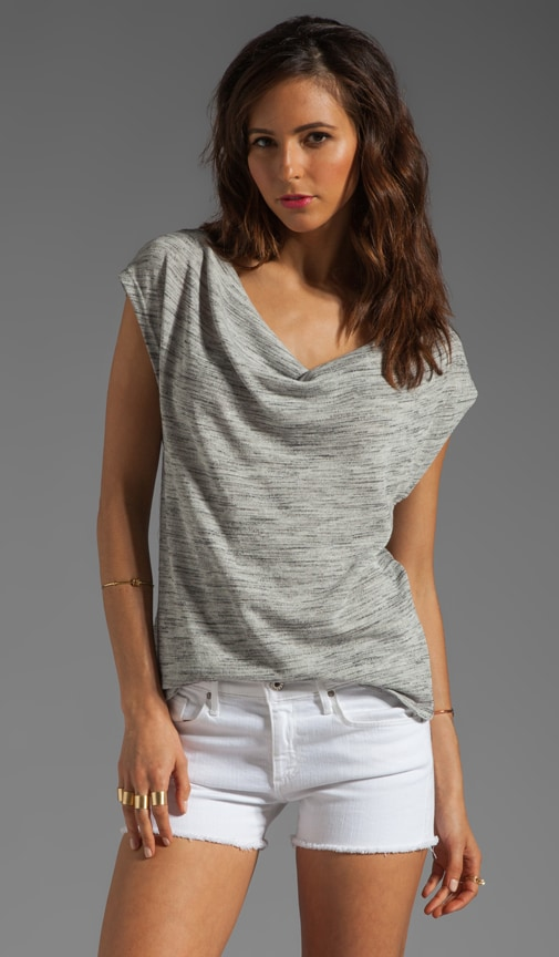 Clelia Spaced Dye Top
