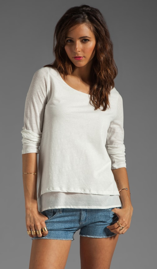 Ambry Layered Linen Top