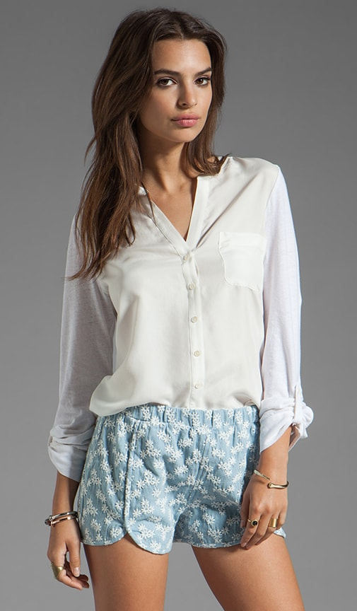 Evaine Button Down Top