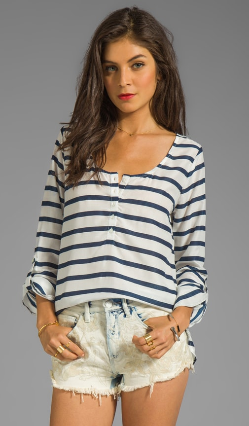 Kelso Striped Henley