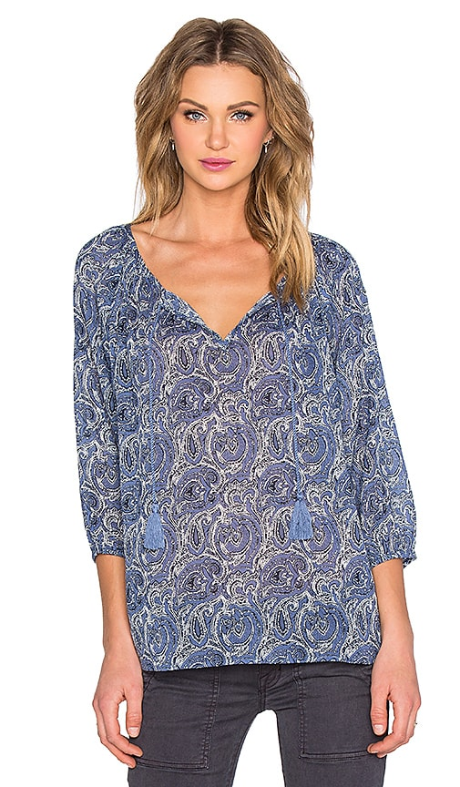 Soft Joie Legaspi Blouse in Blue