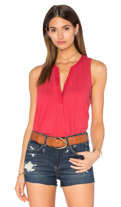 Soft Joie Carley Tank in Mojave Red