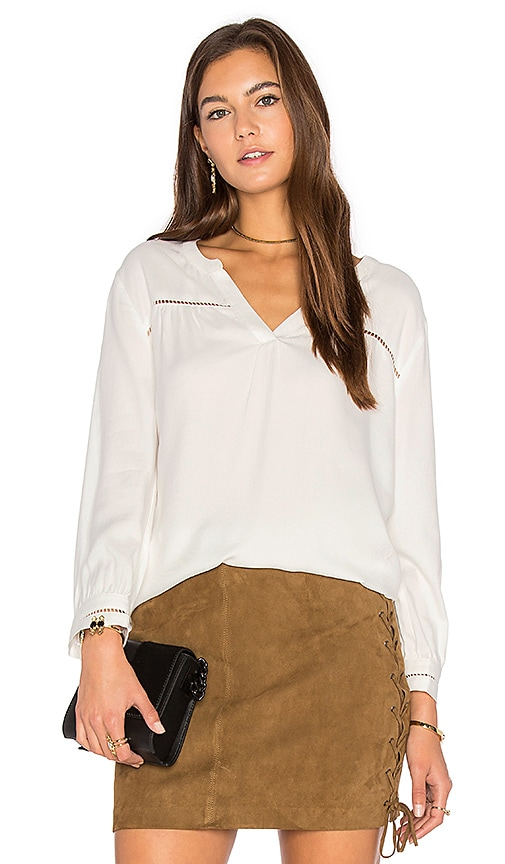 Soft Joie Farna Blouse in White