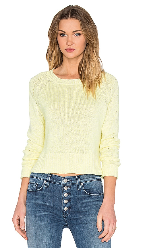 SOH Crew Neck Sweater in Canary