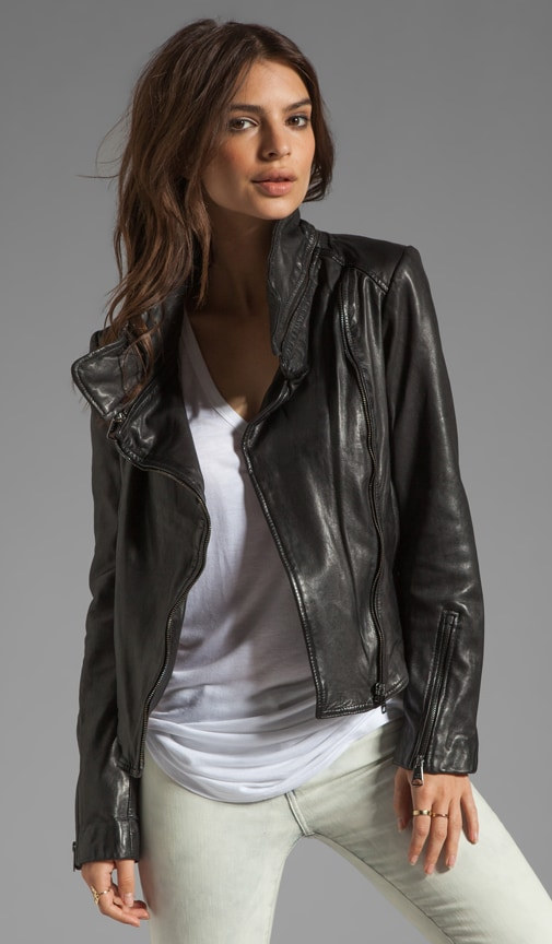Glenna Leather Jacket