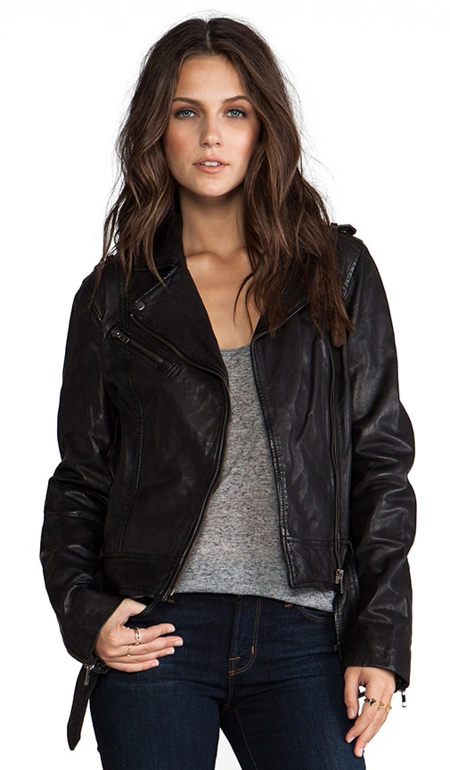 Janelle Leather Jacket