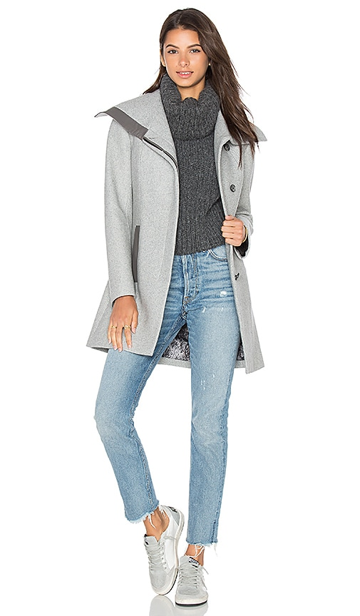 Soia & Kyo Jana Coat in Gray