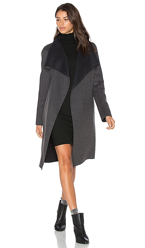 Soia & Kyo Oxana Coat in Charcoal