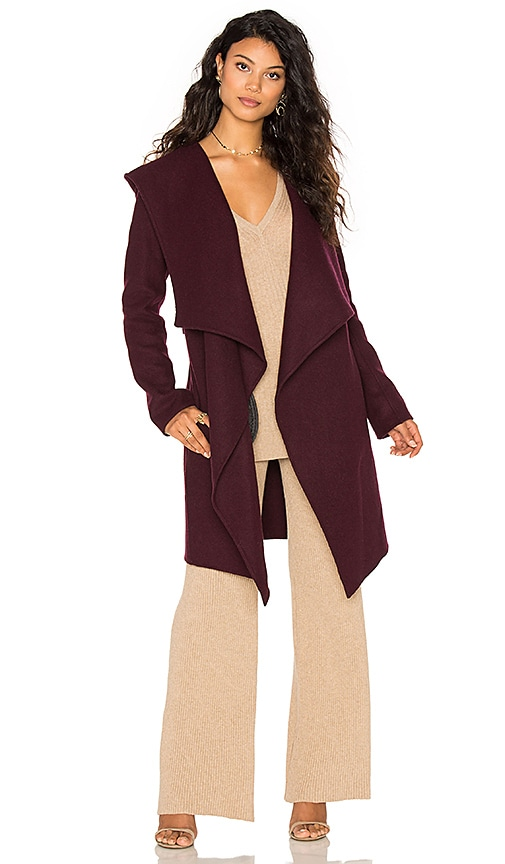 Soia & Kyo Samia Coat in Wine