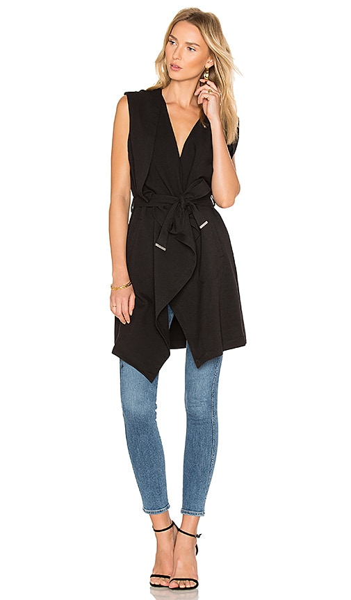 Soia & Kyo Lilian Vest in Black