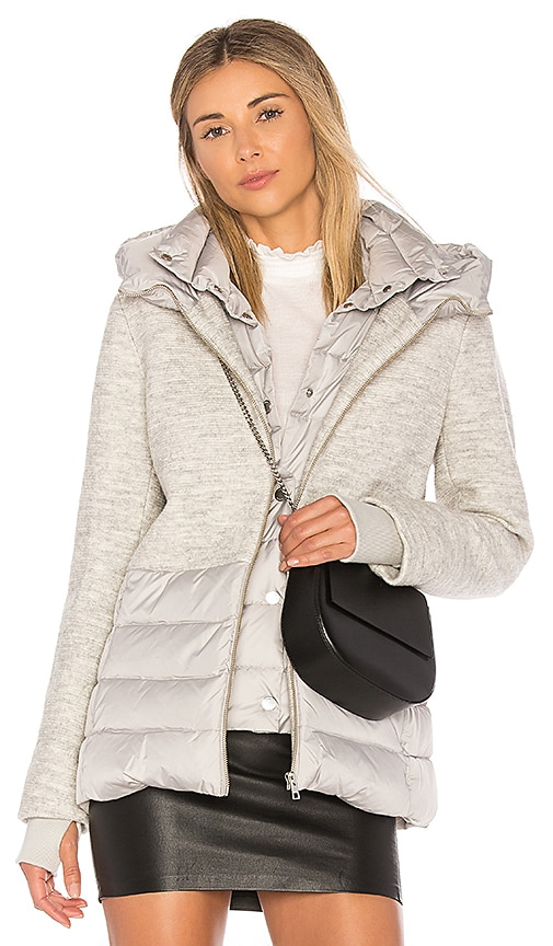 Soia & Kyo Viktoria Puffer Coat in Gray