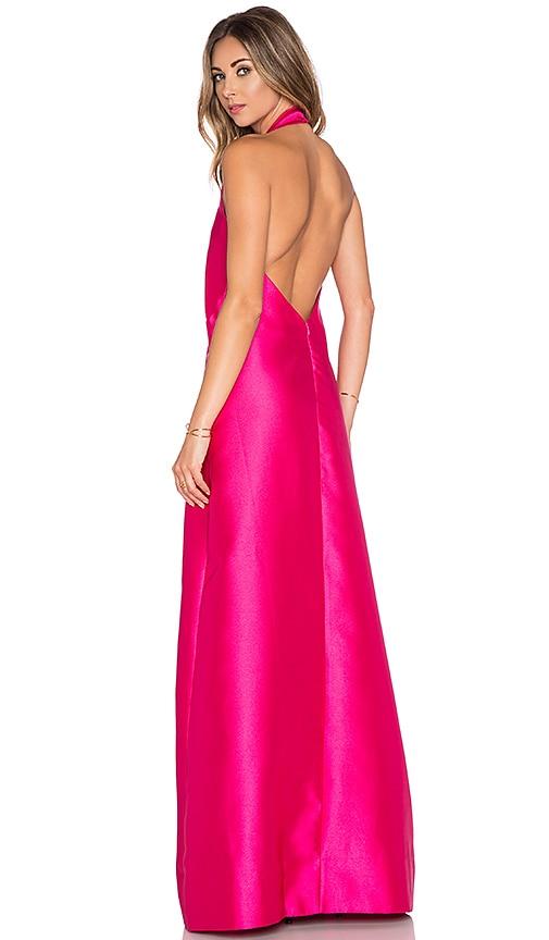 SOLACE London Gloria Maxi Dress in Pink