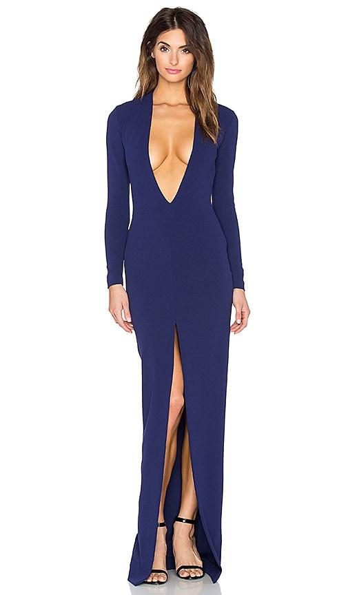 SOLACE London x REVOLVE Gali Maxi Dress in Navy