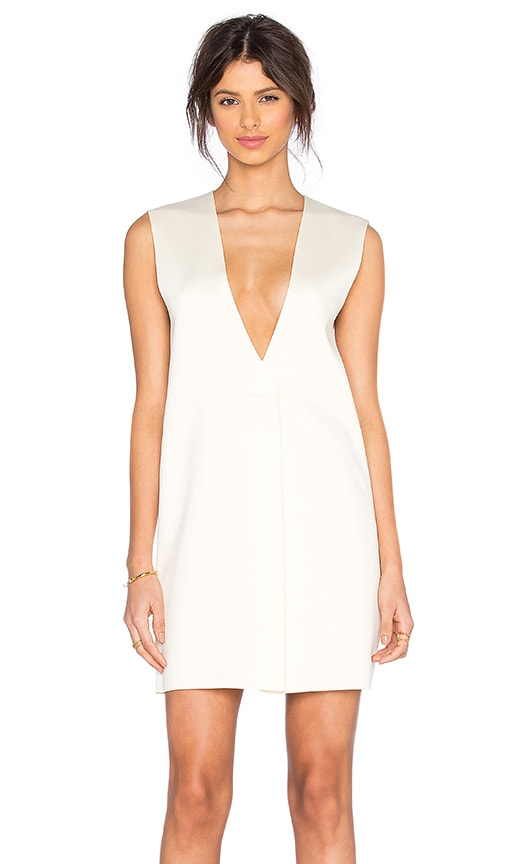 SOLACE London Tayla Dress in Ivory