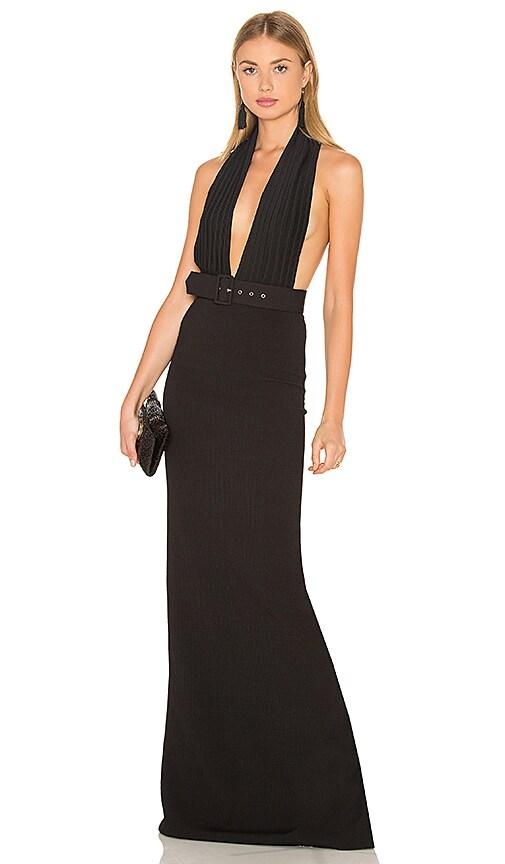 SOLACE London Roxane Dress in Black