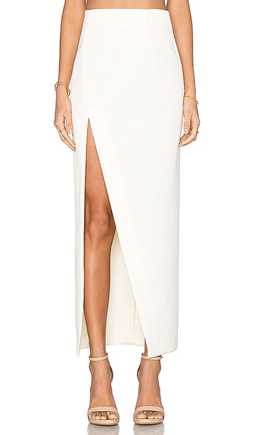 SOLACE London Nick's Skirt in Cream