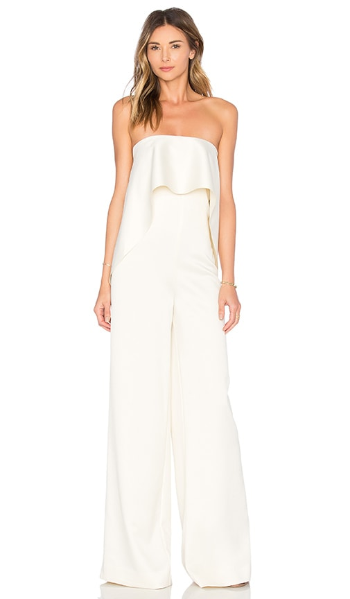 d065f2636bf SOLACE London Cadenza Jumpsuit in Ivory