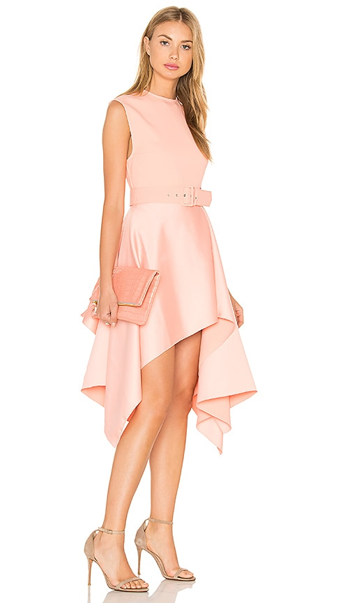 SOLACE London Maya Dress in Pink
