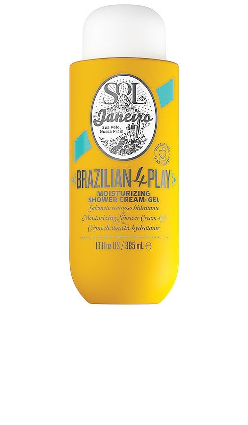 Brazilian 4-Play Shower Cream Gel