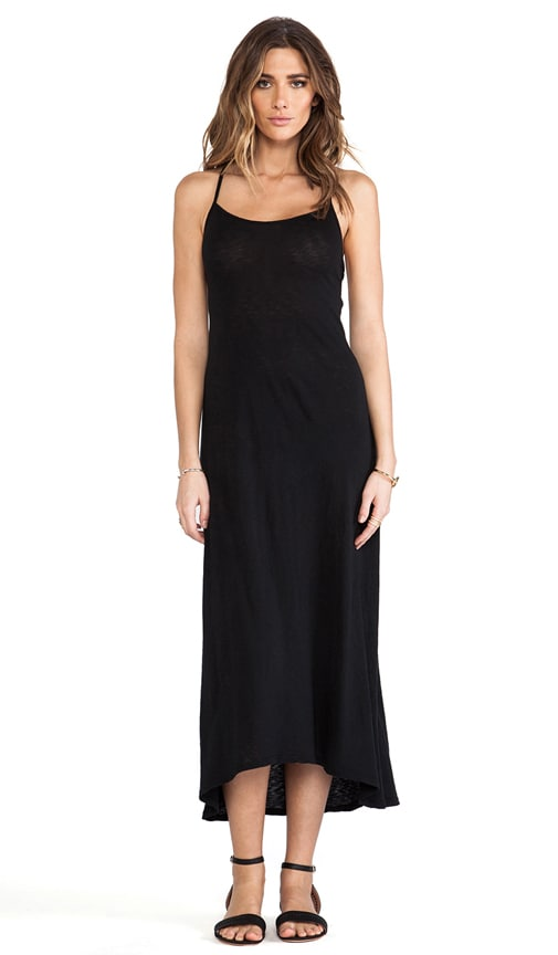 Dropped Armhole Maxi Dress