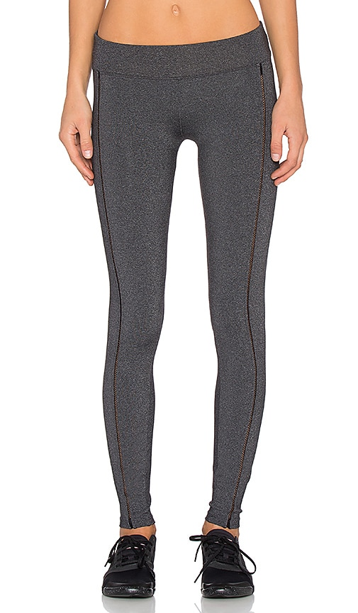 Open Embroidered Legging