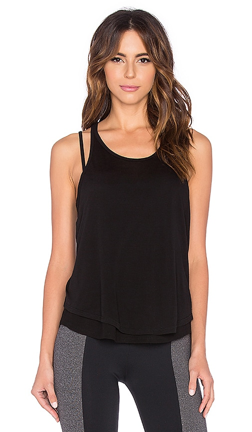 SOLOW Double Layer Tank in Black