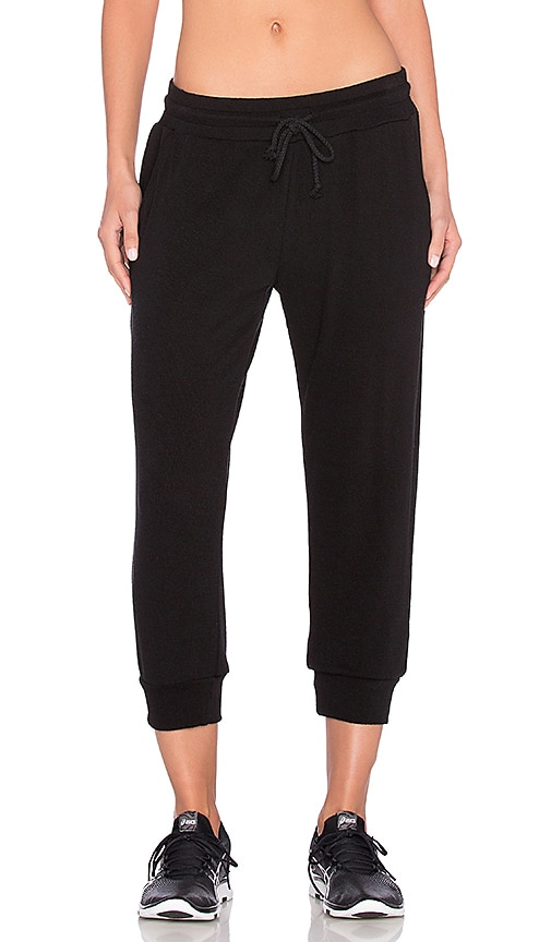 SOLOW Construct Lounge Jogger in Black