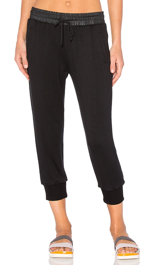 SOLOW Softlounge Terry Jogger in Black