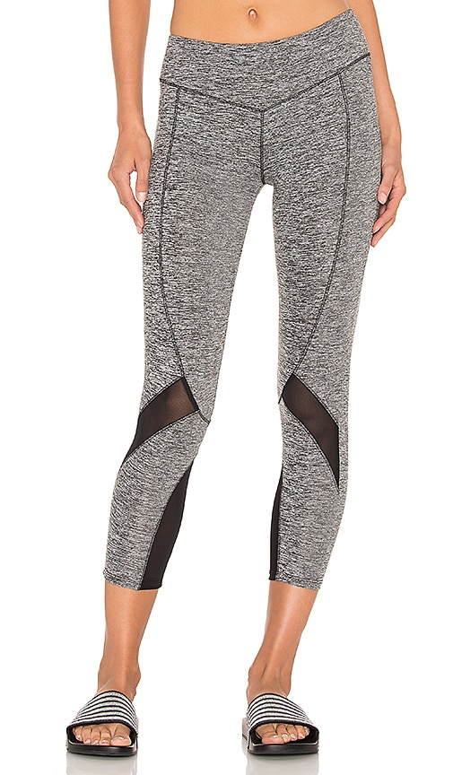 SOLOW Contort Capri Legging in Gray