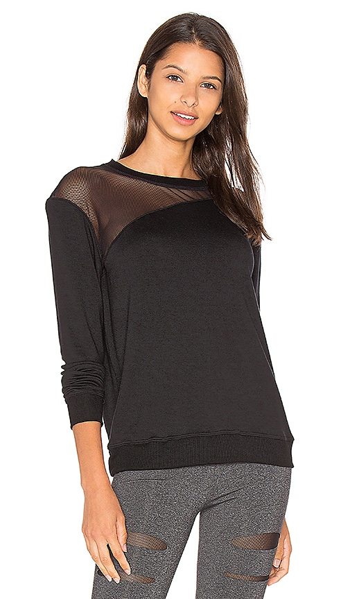 SOLOW Nova Lounge Pullover in Black