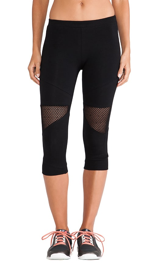 Crop Mesh Legging