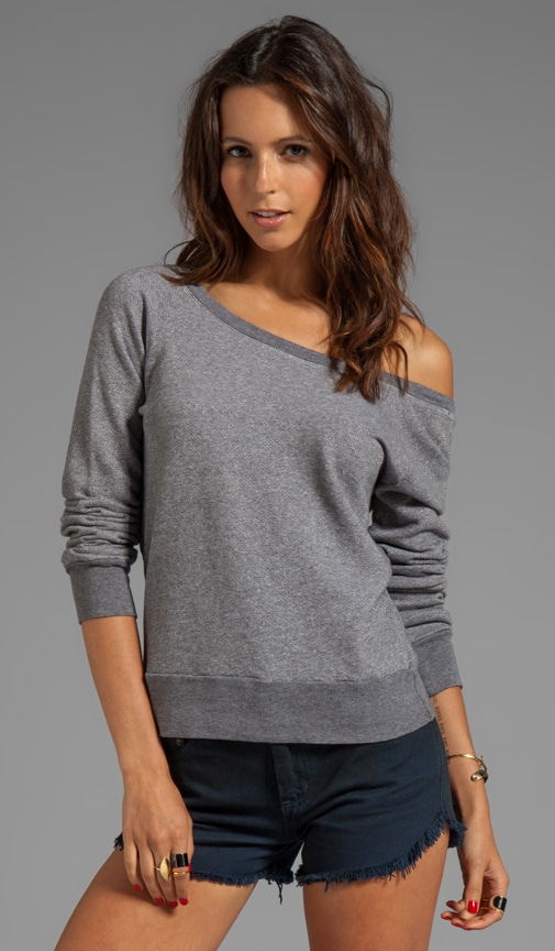 French Terry V Back Sweatshirt