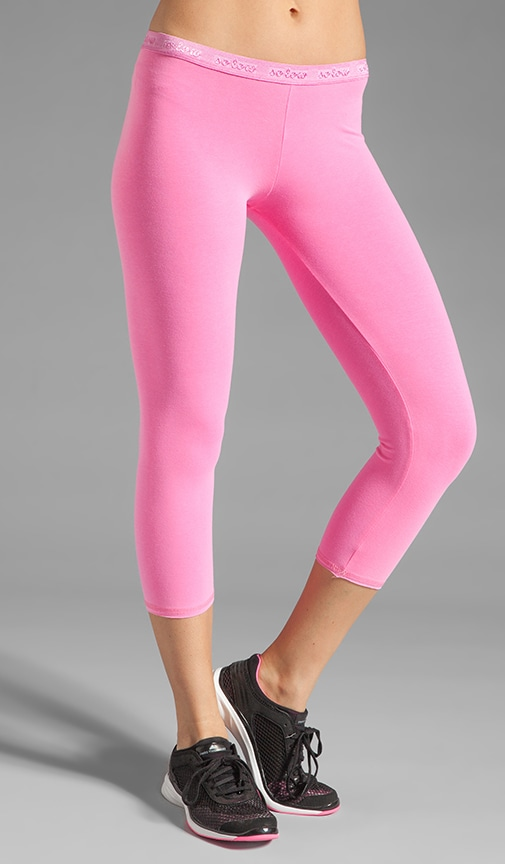 Low Rise Crop Legging