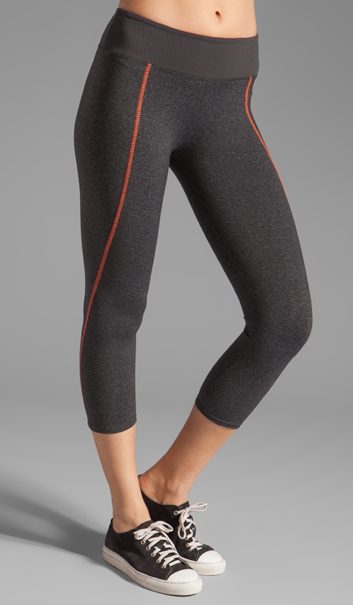 High Impact Contrast Crop Legging