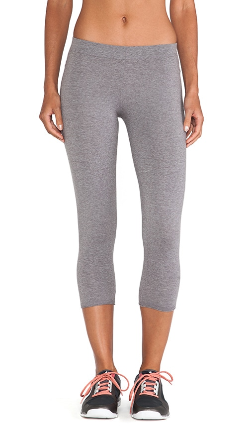 Basic Low Rise Crop Legging
