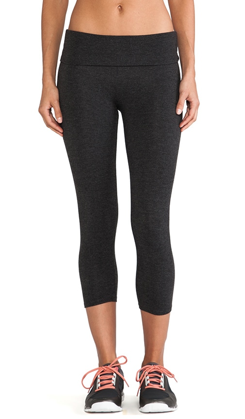 Basics Fold Over Crop Legging