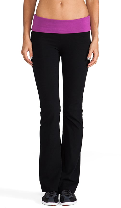 Fold Over Boot Cut Pant